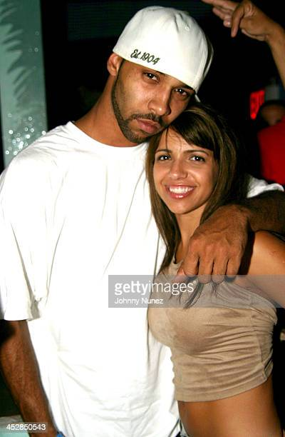 Joe Budden and Vida Guerra during Pitbull CD Release Party at Coral Room in New York City New York United States