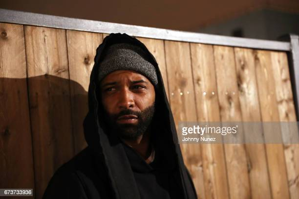 Joe Budden attends the Inside Wale's 'Shine' Listening Event at Genius Event Space on April 26 2017 in New York City