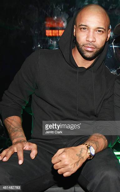 Joe Budden attends Trey Songz And Fabulous' Birthday Celebration at Tokya on November 21 2013 in New York City