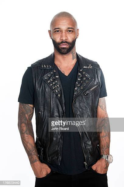 Joe Budden of Slaughterhouse at John Ricard Studio on August 28 2012 in New York City