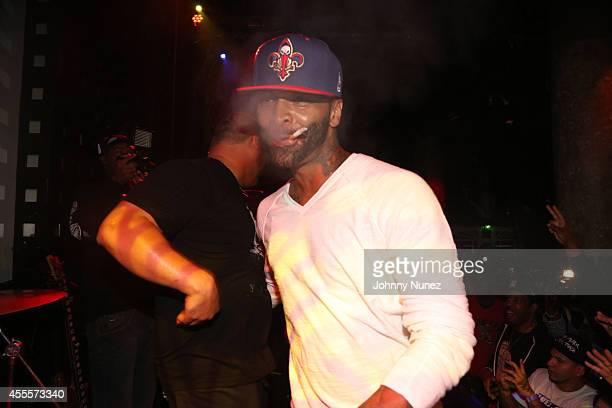 Joe Budden performs during Joell Ortiz 'House Slippers' Album Release Party at SOB's on September 16 2014 in New York City