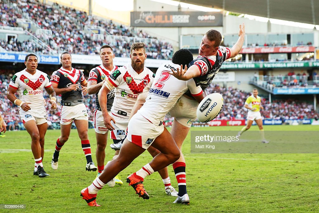 NRL Rd 8 - Dragons v Roosters