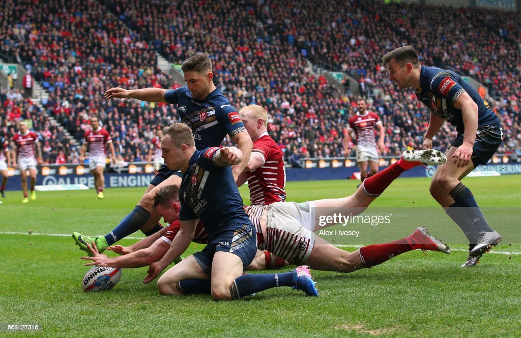 Wigan Warriors v St Helens - Betfred Super League