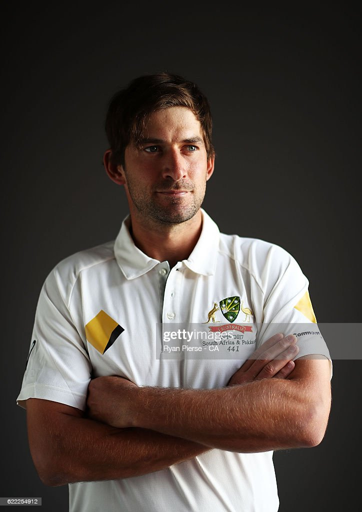 2016-17 Australia Test Team Headshots Session