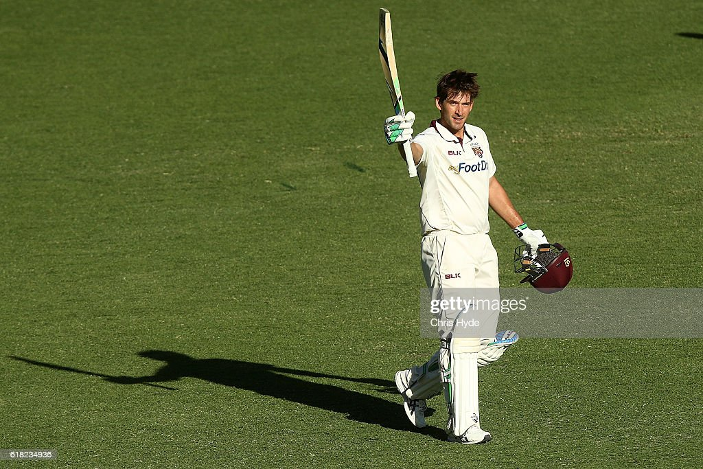 Sheffield Shield - QLD v NSW: Day 2