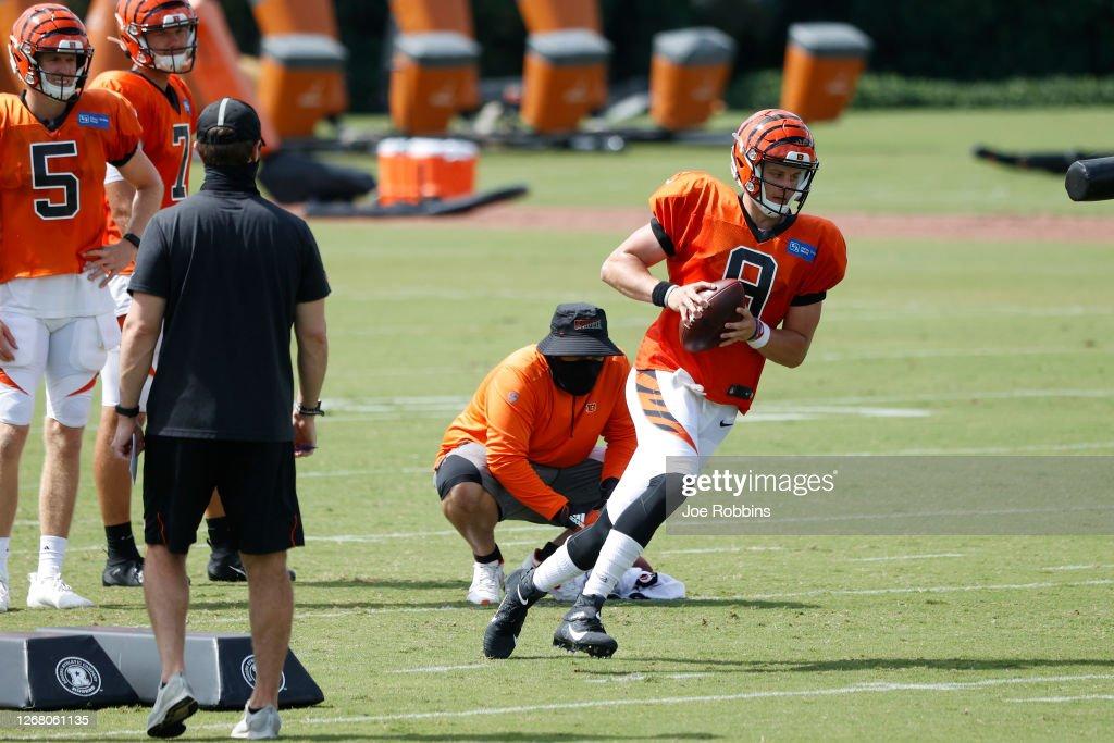 Cincinnati Bengals Training Camp : News Photo