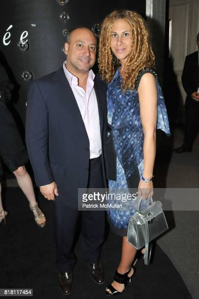Joe Cafiero and Alyson Cafiero attend FASHION's NIGHT OUT with VAN CLEEF and ARPELS at Van Cleef and Arpels 5th Ave on September 10th 2010 in New...