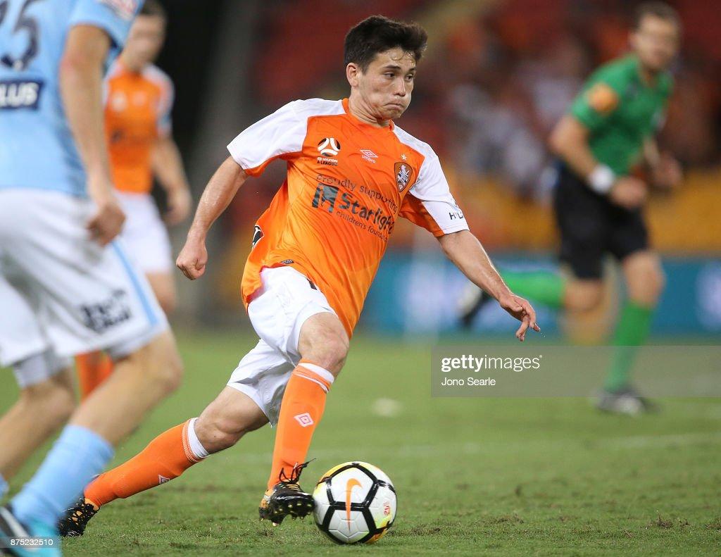A-League Rd 7 - Brisbane v Melbourne City : News Photo