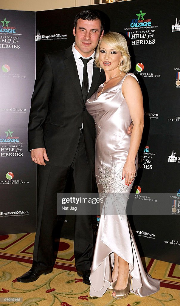 Help For Heroes - Joe Calzaghe Gala Dinner - Arrivals