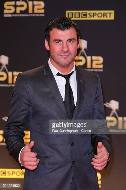 Joe Calzaghe arrives at the Excel Centre in London for the BBC Sports Personality of the Year Awards 2012 , London. 16 December 2012 June 2012 ---...