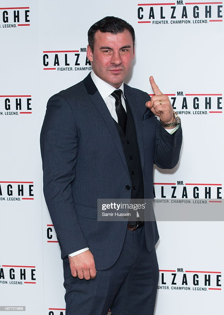 """Mr Calzaghe"" - UK Gala Screening - Arrivals"