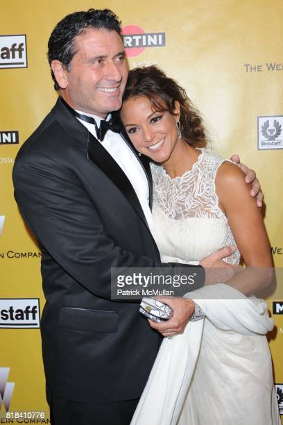 Joe Cappuccio and Eva La Rue attend THE WEINSTEN COMPANY Golden Globes After Party at Bar 210 on January 17, 2010 in Beverly Hills, California.