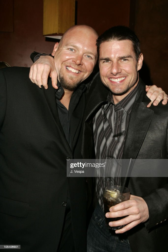 Joe Carnahan and Tom Cruise during Premiere Magazine's 'The New Power' - Inside at Forbidden City in Hollywood, California, United States.