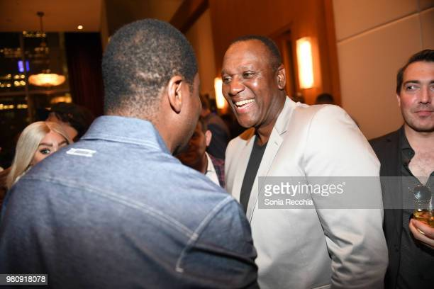 Joe Carter attends Joe Carter Classic After Party at Ritz Carlton on June 21 2018 in Toronto Canada