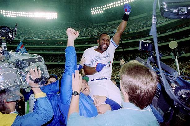 1993 World Series - Game Six: Philadelphia Phillies v Toronto Blue Jays