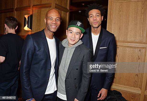 Joe CaselyHayford Eugene Tong Details Magazine Style Director and Charlie CaselyHayford attend as Details x CaselyHayford celebrate London...
