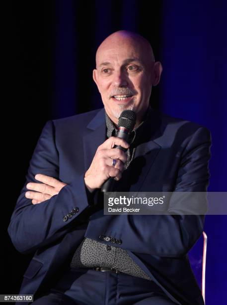 Joe Chiccarelli speaks at the CPI Event during the 18th annual Latin Grammy Awards at the Hardwood Suite at Palms Casino Resort on November 14 2017...