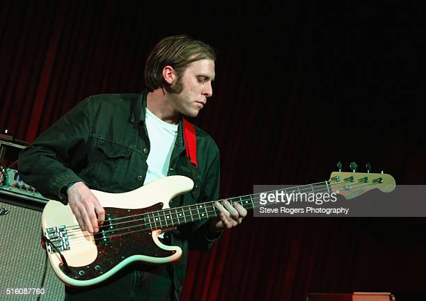 Joe Chilton of Younghusband performs onstage at Under the Radar during the 2016 SXSW Music Film Interactive Festival at Central Presbyterian Church...