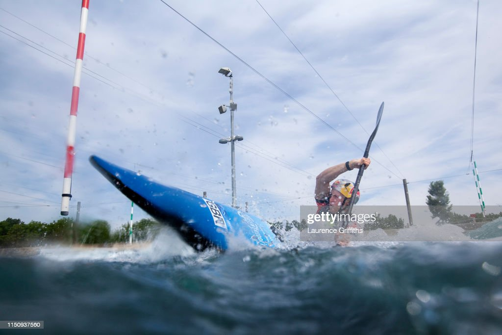 GBR: British Canoeing Canoe Slalom Media Day