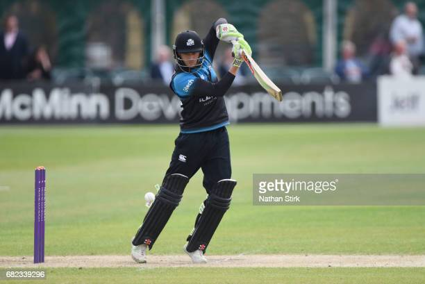 Joe Clarke of Worcestershire bats during the Royal London OneDay Cup match between Worcestershire Rapids and Warwickshire at New Road on May 12 2017...