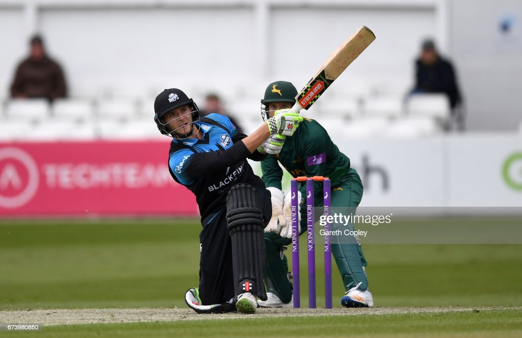 Worcestershire v Nottinghamshire - Royal London One-Day Cup