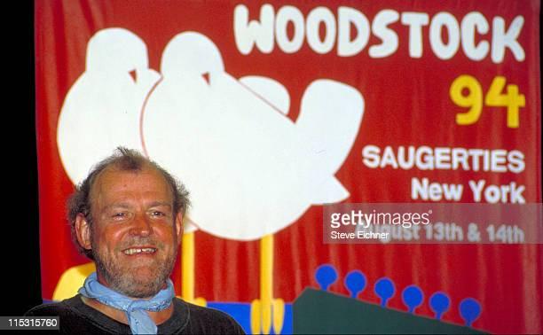 Joe Cocker during Woodstock '94 in Saugerties, New York - August 1994 in Saugerties, New York, United States.