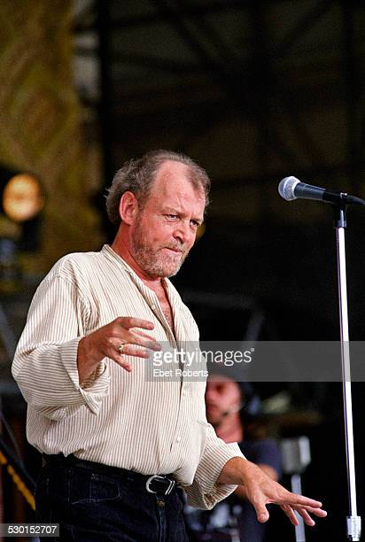 Joe Cocker performing at Woodstock 94 at Winston Farm in Saugerties, New York on August 13, 1994.