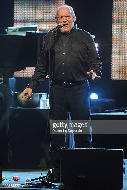 Joe Cocker performs during the 63rd Red Cross Ball at the Sporting MonteCarlo on August 5 2011 in MonteCarlo Monaco