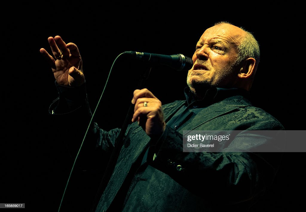 Joe Cocker In Concert At Palais Nikaia In Nice