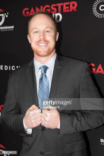 Joe Coffey attends the Premiere Of Cinedigm's 'Gangster Land' at the Egyptian Theatre on November 29 2017 in Hollywood California