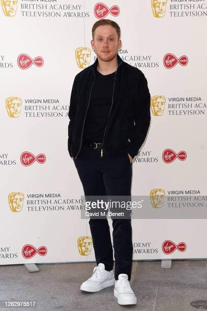 Joe Cole attends the Virgin Media British Academy Television Award 2020 at Television Centre on July 31 2020 in London England