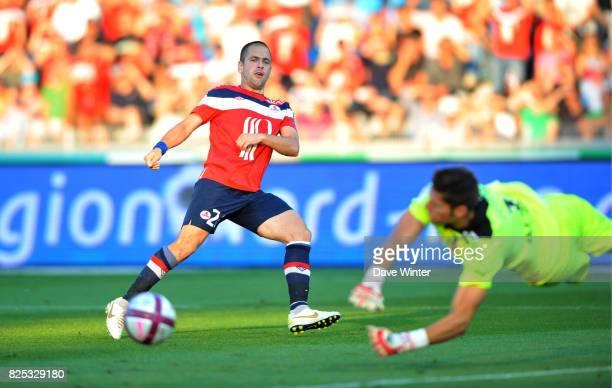 Joe COLE / Benoit COSTIL Lille / Rennes 9e journee Ligue 1
