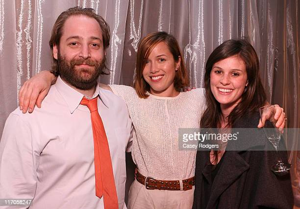 Joe Cole Designer Brady Cunningham and Kacy Byxbee attend the Ten Over Six fall preview and cocktail party at Ten Over Six on March 20 2009 in West...