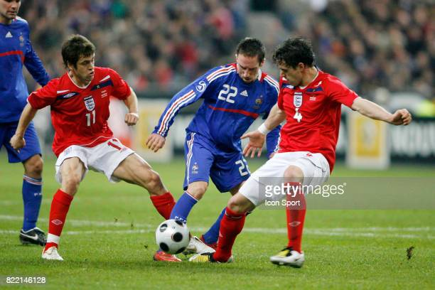 Joe COLE / Franck RIBERY / Owen HARGREAVES France / Angleterre Match amical Stade de France
