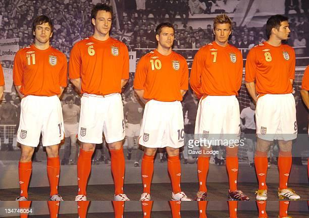 Joe Cole John Terry Michael Owen David Beckham and Frank Lampard