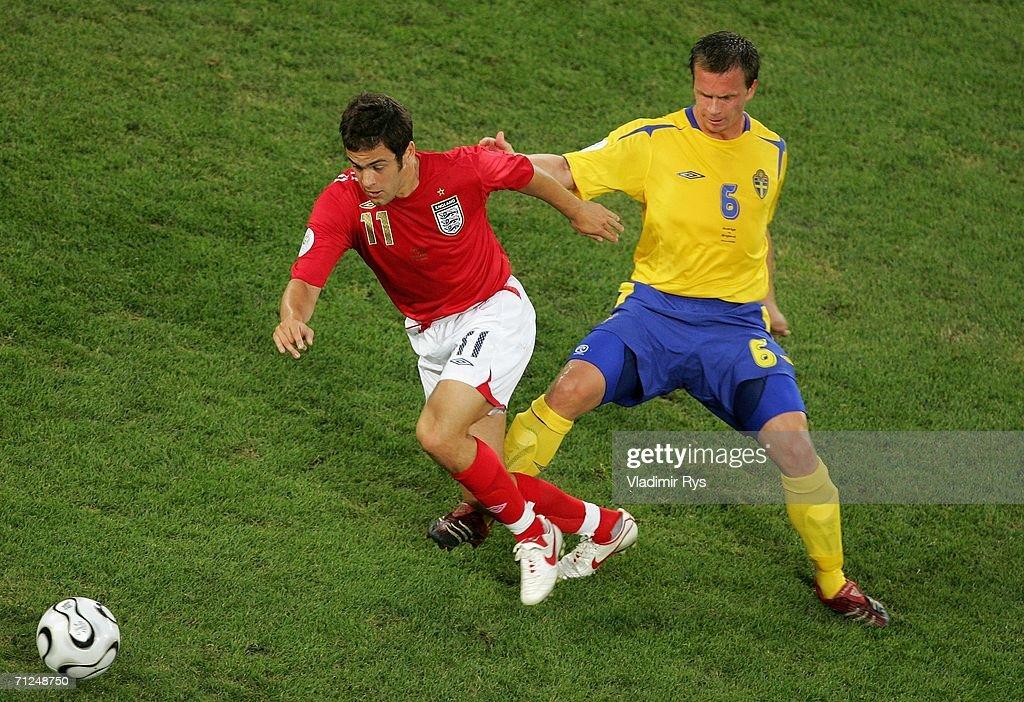 Group B Sweden v England - World Cup 2006 : ニュース写真