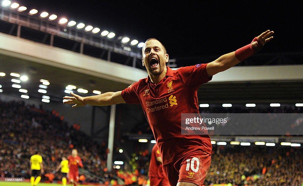 Liverpool FC v BSC Young Boys - UEFA Europa League : News Photo