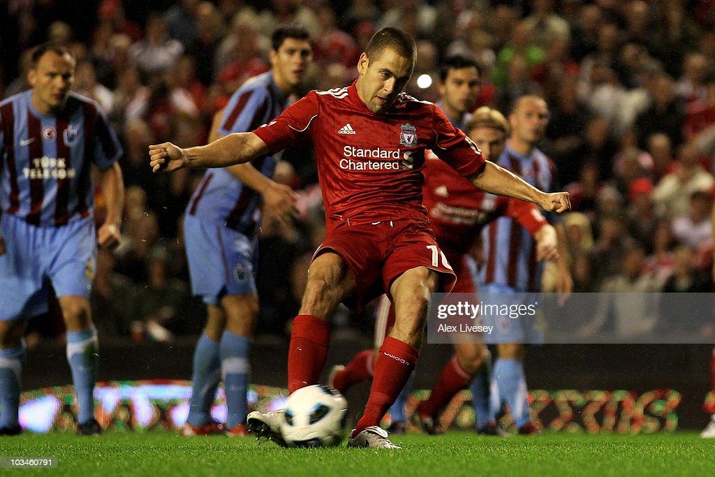 Liverpool v Trabzonspor - UEFA Europa League Play-off