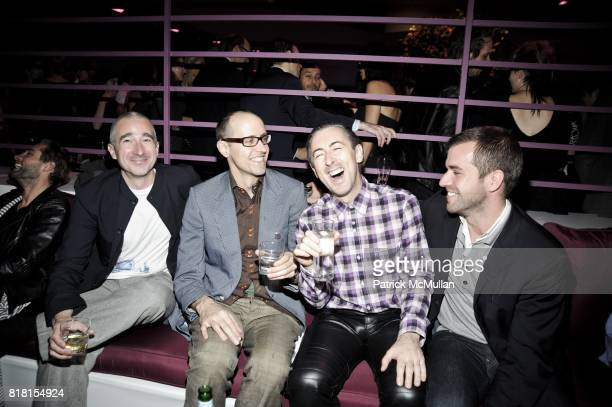 Joe Corcoran Grant Shaffer Alan Cumming and Rob McGarry attend THE HUGO BOSS PRIZE Annual Party 2010 at Solomon R Guggenheim Museum on November 4 2010