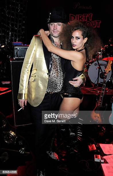 Joe Corre and Alice Dellal attend the Pirate Provocateur Extravaganza launch party for the new Agent Provocateur Winter collection and for the...