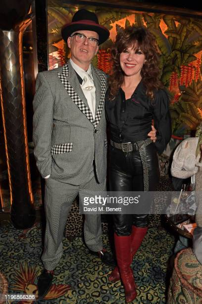 Joe Corre and Jess Morris attend the 'Country Town House Great British Brands' party at Annabel's on January 27 2020 in London England