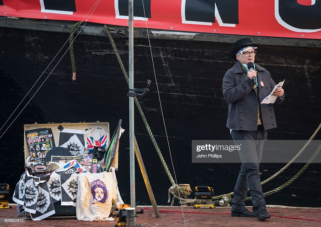 Joe Corre Burns His Entire £5 Million Punk Collection : News Photo
