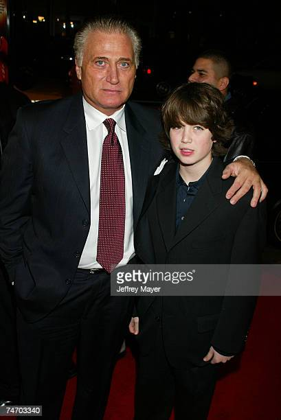 Joe Cortese and son Jack at the Graumann's Chinese Theatre in Hollywood California