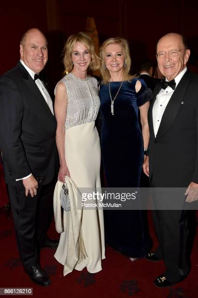 Joe Craft Ambassador Kelly Craft Hilary Geary Ross and Wilbur Ross Jr attend the Council for Canadian American Relations Gala at The Metropolitan...