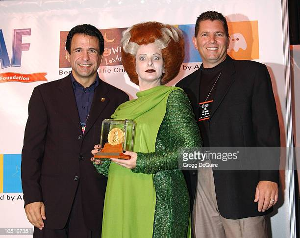 Joe Cristina founder and board chair of CAAFChildren Affected by AIDS Foundation Marlee Matlin who receives an award for the Celebrity Hero catagory...