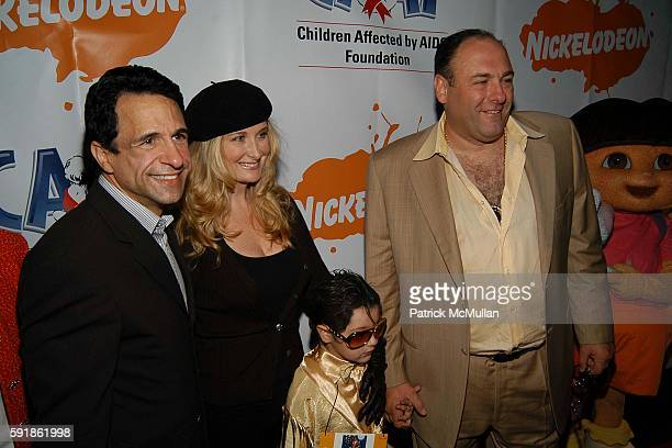 Joe Cristina Marcy Gandolfini and James Gandolfini attend Dream Halloween Fundraising Event to Benefit the Children Affected by AIDS Foundation at...
