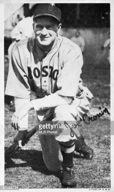Joe Cronin of the Boston Red Sox poses for a portrait. Cronin played for the Sox from 1935-45.