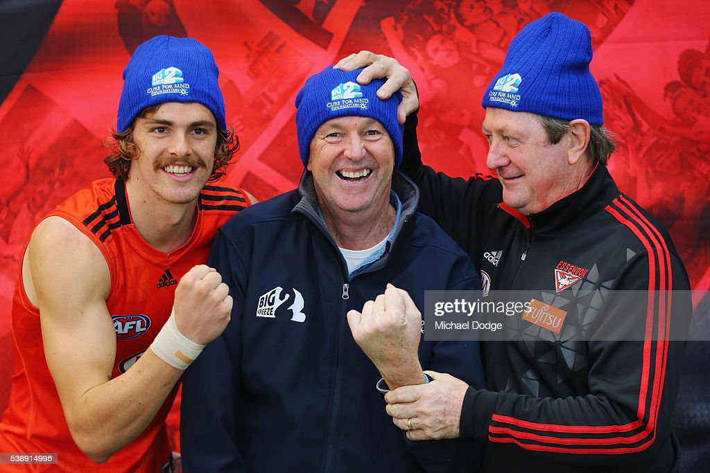 Essendon Bombers Training & Media Session