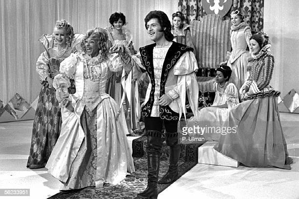 Joe Dassin Henri Salvador and Jacqueline Huet Television programme Febuary 11 1972