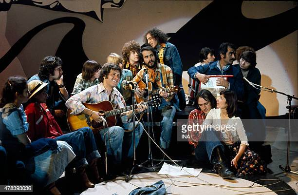 Joe Dassin Michel Fugain and the big mess on the set of ''Number one''